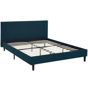Anya Queen Bed Azure