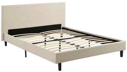 Anya Queen Bed Beige