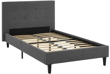 Linnea Twin Bed Gray