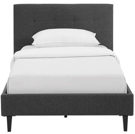 Linnea Twin Bed Gray