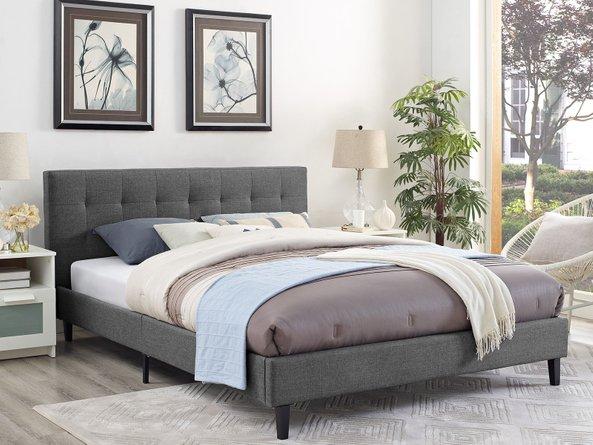 Linnea Queen Bed Gray
