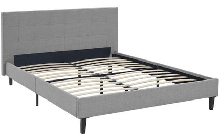 Linnea Full Bed Light Gray