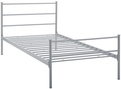 Alina Platform Twin Bed Frame Gray