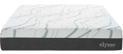 Elysse Memory Foam and Innerspring Hybrid Queen Mattress 12""
