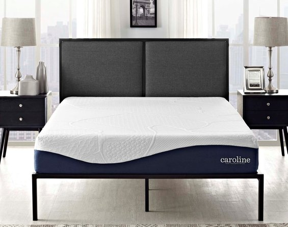 Caroline Gel Memory Foam Twin Mattress 10""