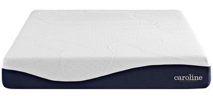 Caroline Gel Memory Foam Queen Mattress 10""