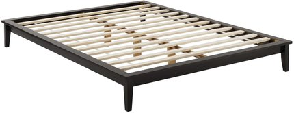 Lodge Platform Queen Bed Frame Cappuccino