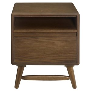 Talwyn Wood Nightstand Chestnut