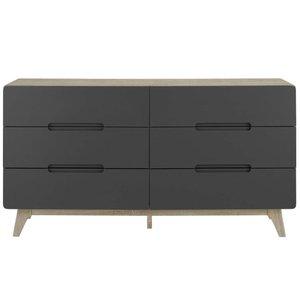 Origin Wood Dresser Natural And Gray