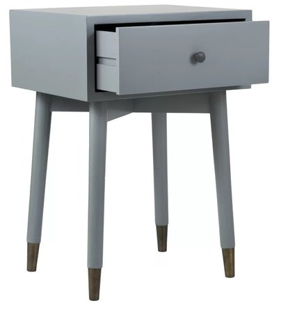 Alnil End Table With Storage Gray