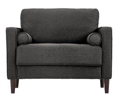 Garren Club Chair Heather Gray
