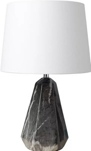 "Acorse 20.5"" Table Lamp White And Gray"