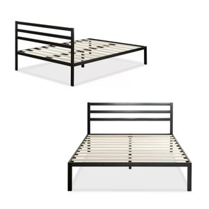 Oscar Platform Queen Bed Black