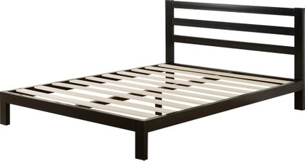 Lewis Platform Twin Bed Black