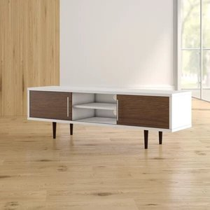 "Iversen TV Stand for TVs up to 65"" Walnut"