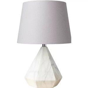 "Herrera 17"" Table Lamp White"