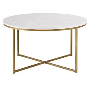 Wasser Coffee Table Dark White