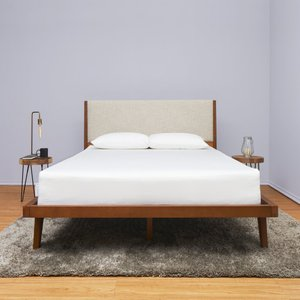 "Eight Full Mattress 10"" White"