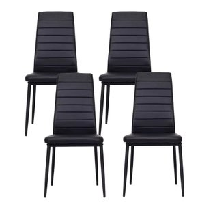 Thoreau Dining Chair Black (Set of 4 Units)
