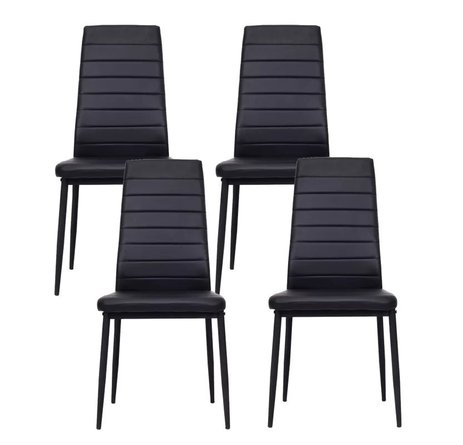 Thoreau Dining Chair Black (Set of 4)
