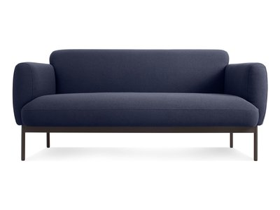 "Puff Puff 67"" Sofa  Edwards Navy"