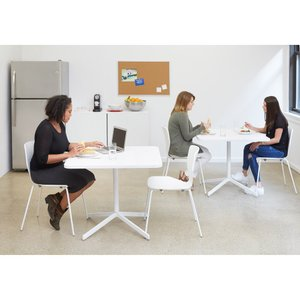 Groove Stacking Side Chairs (Set of 2)