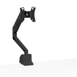 Black Swing Single Monitor Arm