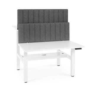 """Pinnable Privacy Panel, Face-to-Face, 47"""" Dark Gray"""