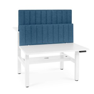Pinnable Privacy Panel, Face to Face Dark Blue