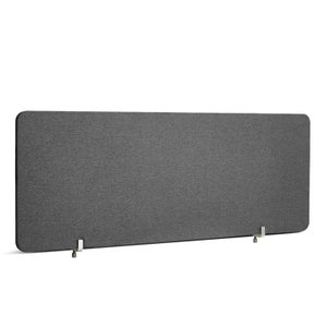 Dark Gray Fabric Privacy Panel, Face-to-Face 45""