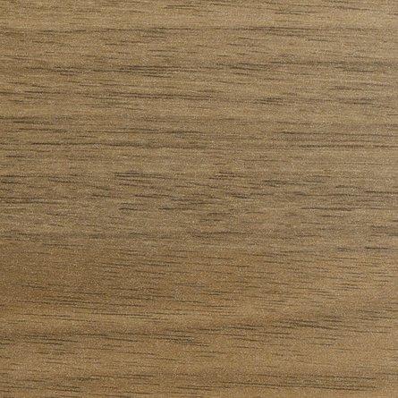 """Bivi Desk For One, Virginia Walnut, 48"""", White Frame"""