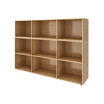 Bivi Bigger Depot Shelf Warm Oak