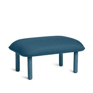 Privacy Lounge Ottoman Dark Blue