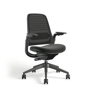 Steelcase Series 1 Chair, Black Frame Black