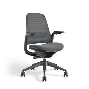 Steelcase Series 1 Chair, Black Frame Gray
