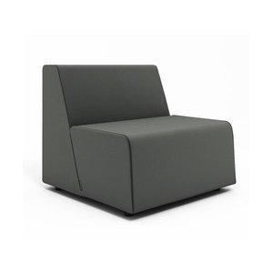 Campfire Half Lounge Chair, Gray