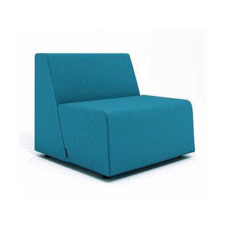 Campfire Half Lounge Chair, Pool Blue