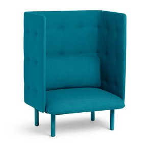 QT Privacy Lounge Chair Teal