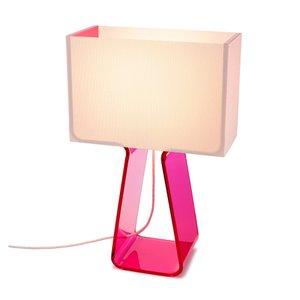 Tube Top Lamp Pink