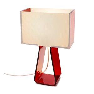Tube Top Lamp Red
