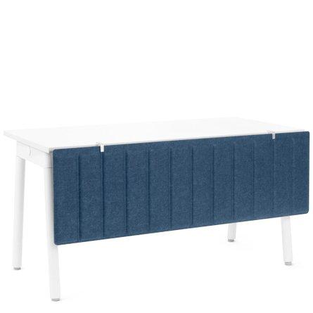"Pinnable Modesty Panel, 47"" W Dark Blue"