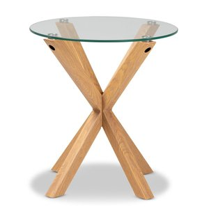 Baxton Studio Lida End Table Natural
