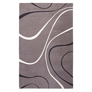Therese Abstract Swirl 8' x 10' Area Rug Multicolor