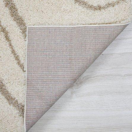Camegie Modern Shag Area Rug (8' X 10') In Beige