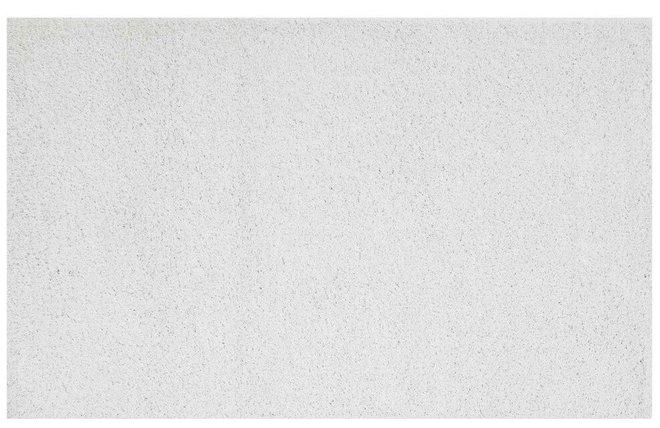 Enyssa Solid 8' x 10' Shag Area Rug Ivory White