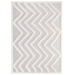 Whimsical Pathway Rug 8 X 10 Ivory