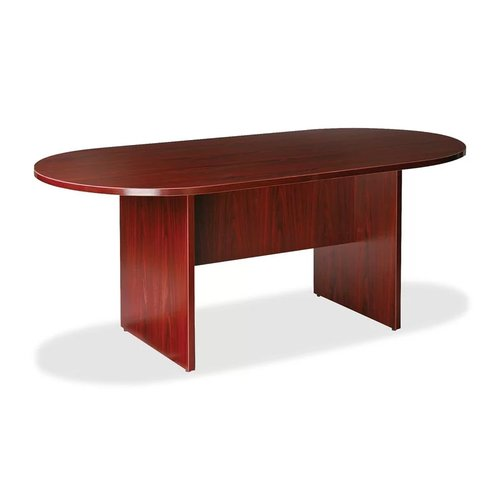 Larry Oval Conference Table Mahogany
