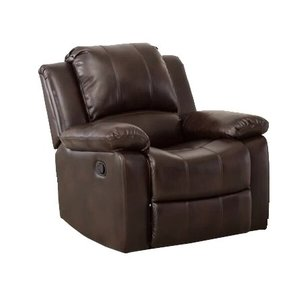 Daisy Manual Glider Recliner Armchair Brown
