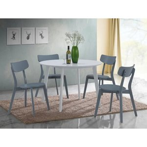 Tre Dining Set For 4 Gray