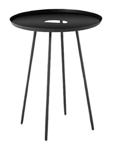 Rove Side Table Graphite Black